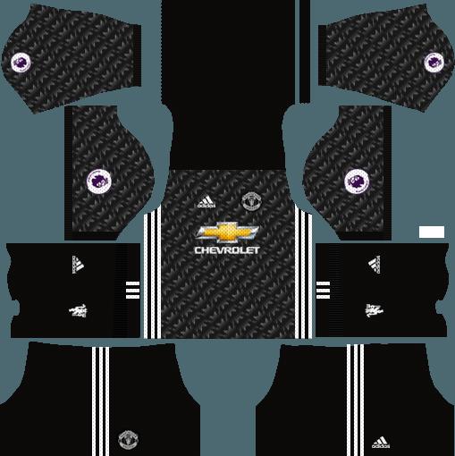 Manchester United Dream League Soccer Kits & Logo URL