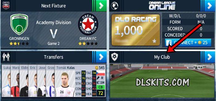 Kits Dream League Soccer My Club