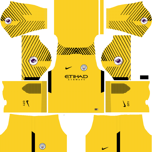 ea123e20e35 Dream League Soccer Kits Manchester City Goalkeeper Away 2018