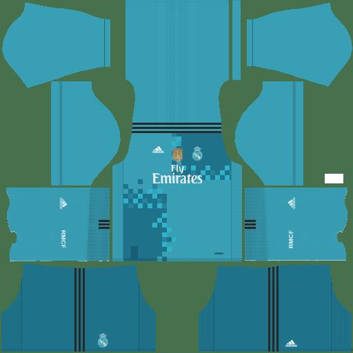 new york 0ef71 3cacf Dream League Soccer Real Madrid Kits 2018 {DLS Kits & Logo ...