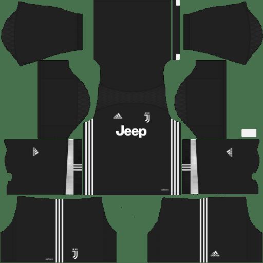 Juventus DDLS 512X512 Goalkeeper Kits Away 2017-2018