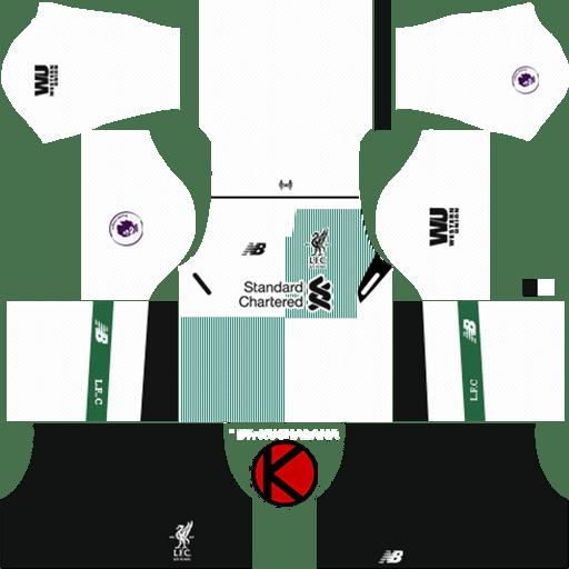 F C  Liverpool Dream League Soccer Kits & Logo URL 2017-2018