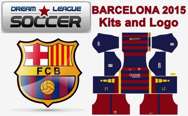 Dream League Soccer Kits Barcelona 2015/2016 with Logo URL