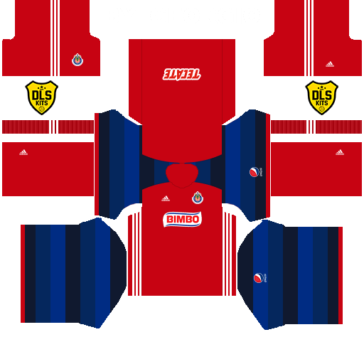 dc3427ce3ba Chivas Dream League Soccer Kits DLS 512x512 URL (Home) 2016 17