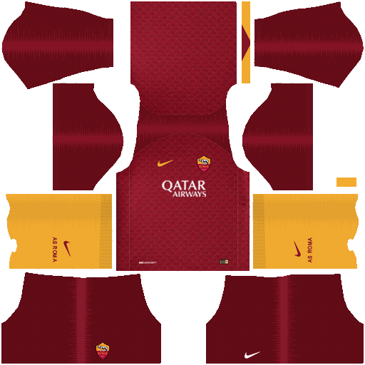 455714a87 AS Roma 2018-19 Dream League Soccer Kits and Logo URL