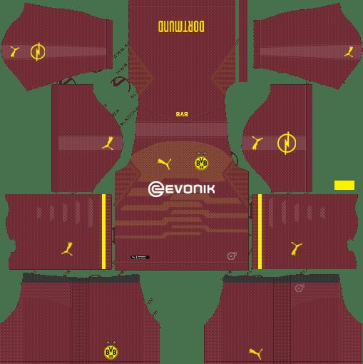premium selection 515a4 86c6e Dream League Soccer Kits Borussia Dortmund 2018-2019 Kit URL