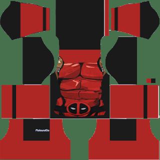 Dream League Soccer Kit Deadpool