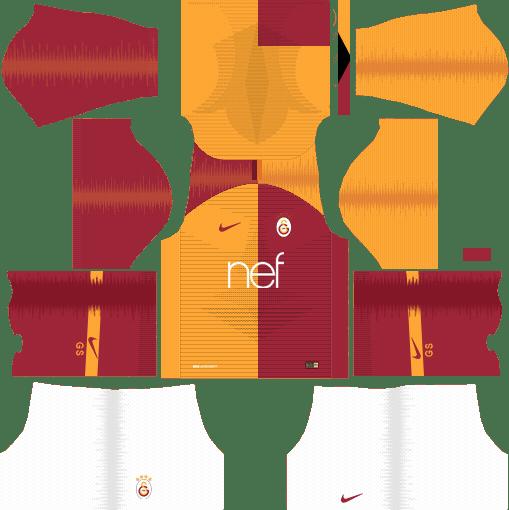 on sale f44a9 9e191 Dream League Soccer Kits Galatasaray S.K. 2018-19 Kit & Logo