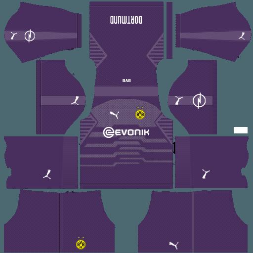 79d21ff02 Goalkeeper Dream League Soccer Kits Borussia Dortmund 2018-2019 Kit URL  512x512