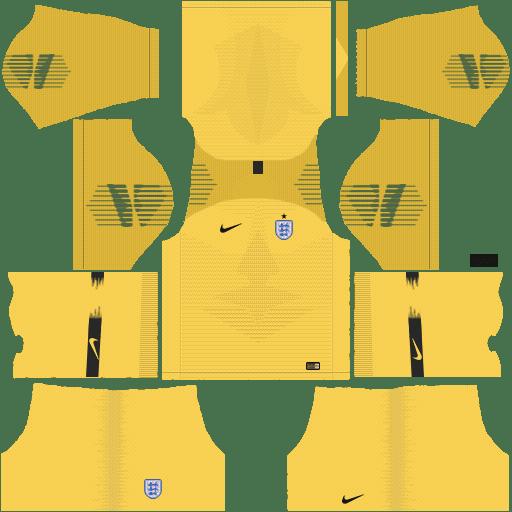 England Nike World Cup 2018 Dream League Soccer Kits URL 512x512 - Goalkeeper Home