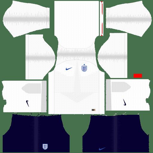 England Nike World Cup 2018 Dream League Soccer Kits URL 512x512 - Home