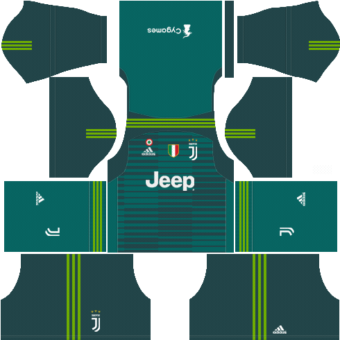 sale retailer fd44e 197db F.C. Juventus 2018-19 Dream League Soccer Kits & Logo 512x512