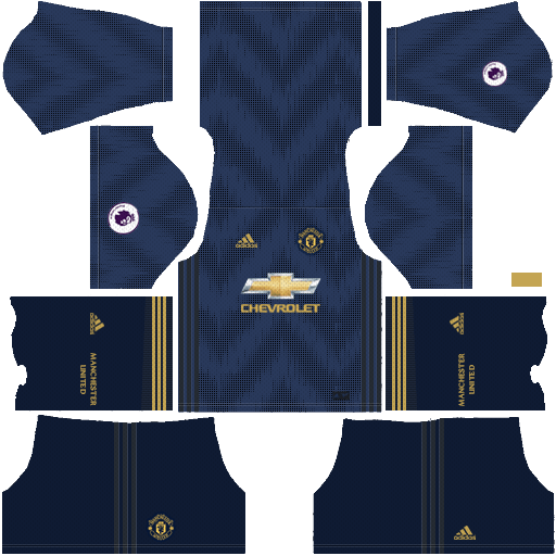 Manchester United 2018-19 Dream League Soccer Kits 512x512 URL