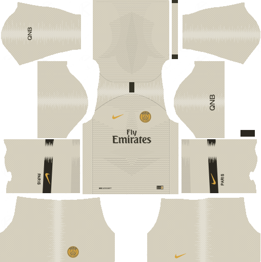 Paris Saint Germain PSG 2018-19 Dream League Soccer Kits 512x512