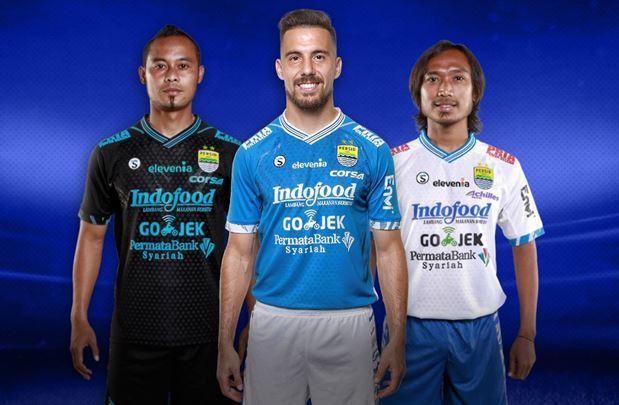 Persib Bandung 2018-19 Dream League Soccer Kits & Logo