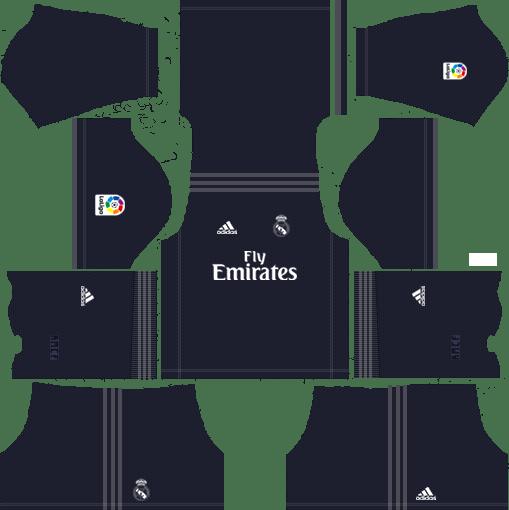 ffec27dd2e9 Dream League Soccer Real Madrid Kits 2018-2019 URL 512x512 AWAY