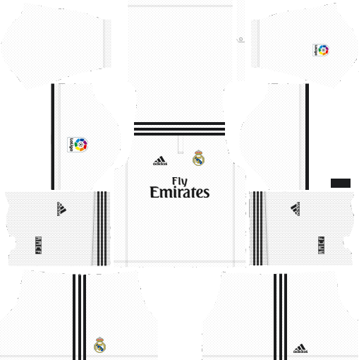 Dream League Soccer Real Madrid Kits 2018-2019 URL 512x512