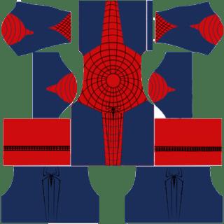 Dream League Soccer Kit Spiderman