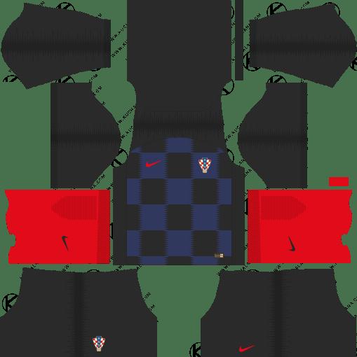 Croatia World Cup 2018 Dream League Soccer Kits URL 512x512 - AWAY