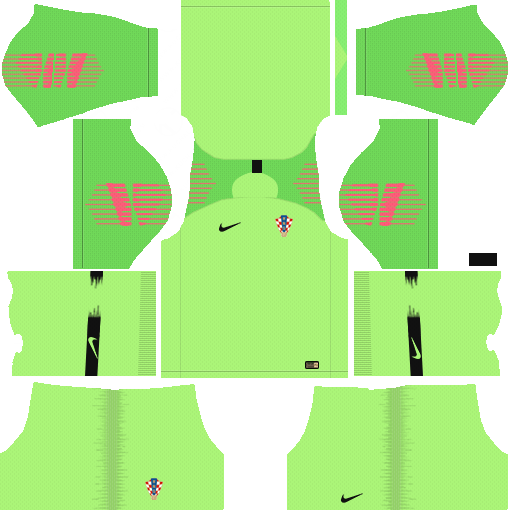 Croatia World Cup 2018 Goalkeeper Dream League Soccer Kits URL 512x512