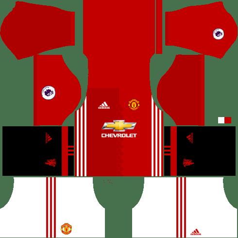 Manchester United 2016 2017 Dream League Soccer Kits Url 512x512