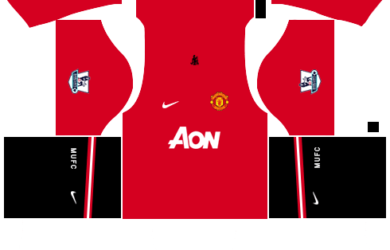 398bbe9d7bc Manchester United Kit 512×512 Dream League Soccer Kits 2013-14