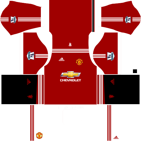 Dream League Soccer Manchester United Kits