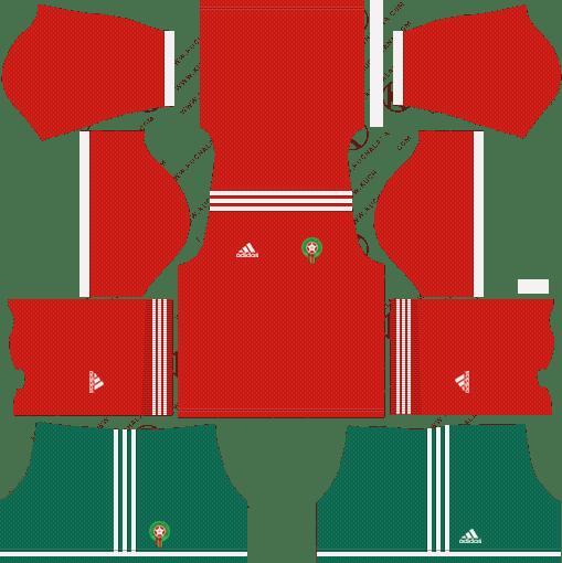 d332babf569 Morocco FIFA 2018 World Cup Dream League Soccer Kits