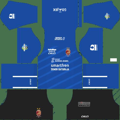 Sriwijaya FC Kit 2018 Dream League Soccer Kits 512x512 URL - Goalkeeper
