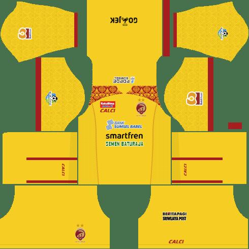 Sriwijaya FC Kit 2018 Dream League Soccer Kits 512x512 URL