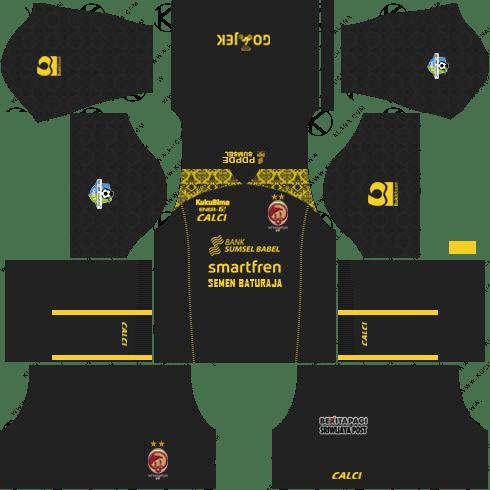 Sriwijaya FC Kit 2018 Dream League Soccer Kits 512x512 URL - Third