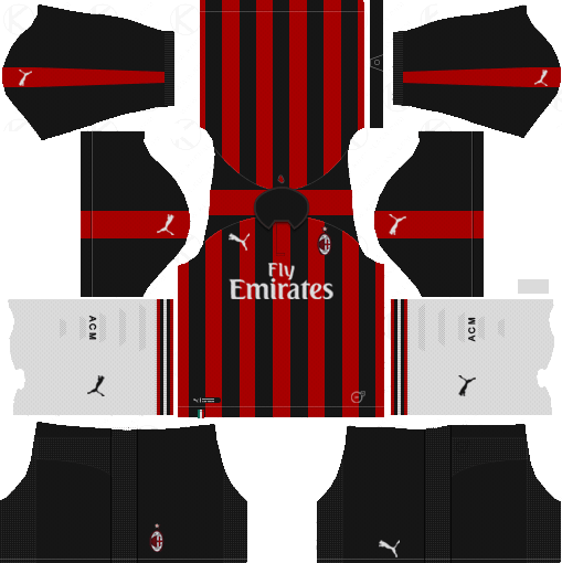 4fcdf7da686 AC Milan 2018-19 Away Kit Dream League Soccer Kits URL 512x512