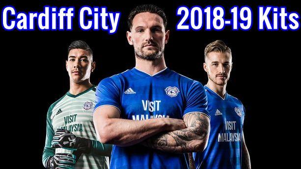 Cardiff City Fc 2018 19 Dream League Soccer Kits Logo