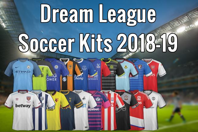 1e08ab9f640 Dream League Soccer Kits 2018-19 | DLS 18 Kits & Logos