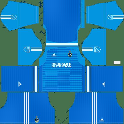 super popular 61830 852d0 LA Galaxy FC 2018 Dream League Soccer Kits & Logo