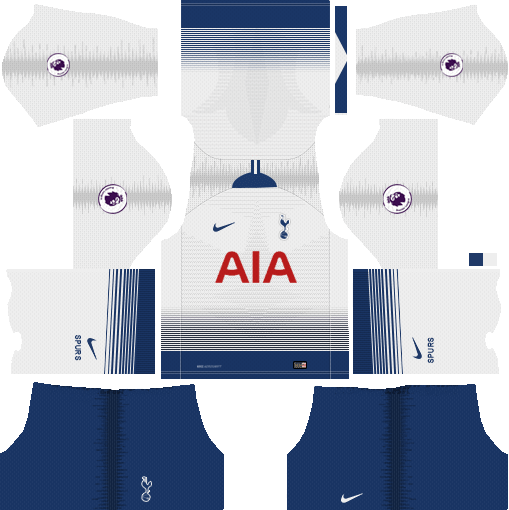 486a56cf0 ... Nike Tottenham Hotspur 2018 19 Dream League Soccer Kits   Logo