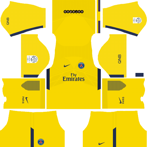 Dream League Soccer Kits PSG 2017-2018 {Paris Saint Germain}