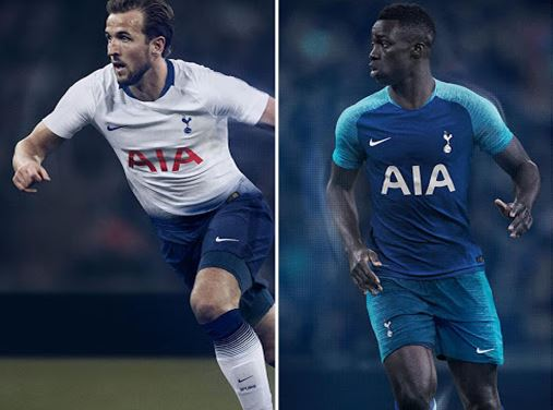 online retailer c6bcd b02f9 Nike Tottenham Hotspur 2018-19 Dream League Soccer Kits & Logo