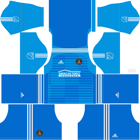 new products 7dc9a fc26c Atlanta United FC 2018 Dream League Soccer Kits & DLS Logo