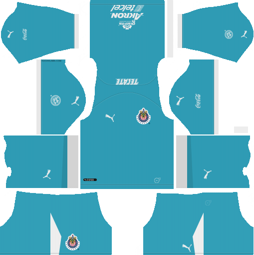 b0e95085efd Goalkeeper Away Dream League Soccer Kits Chivas De Guadalajara 2018-19 URL  512x512
