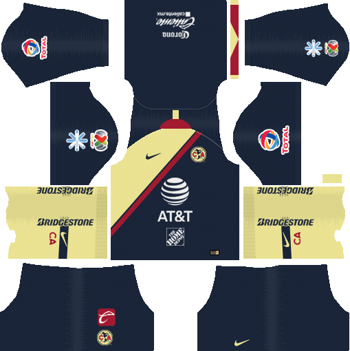 newest collection 2c80a a4a9f Dream League Soccer Kits America Club 2018-19 Kit & Logo