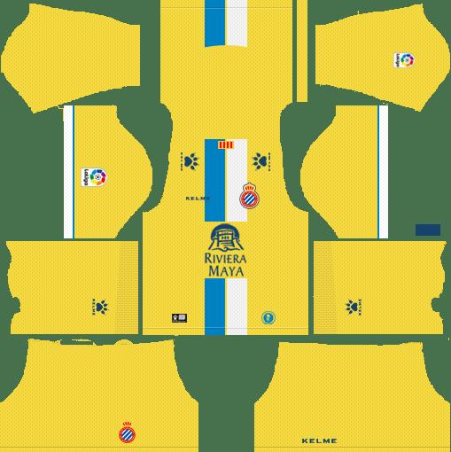 a9b4980ee RCD Espanyol 2018-19 Third Dream League Soccer Kits 512x512 URL