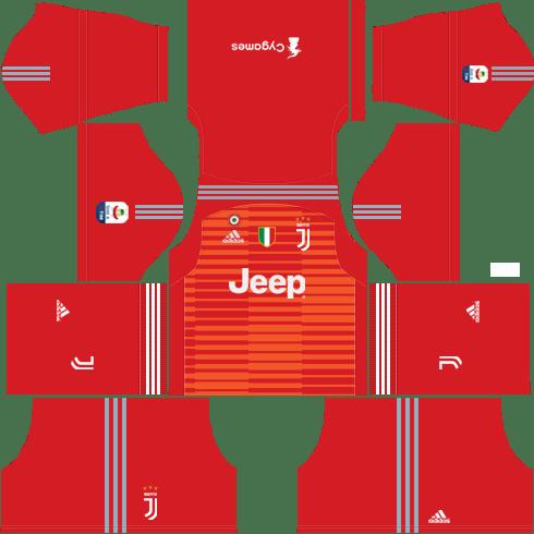 Goalkeeper Juventus Away Kit 2018-19 | Dream League Soccer Kits