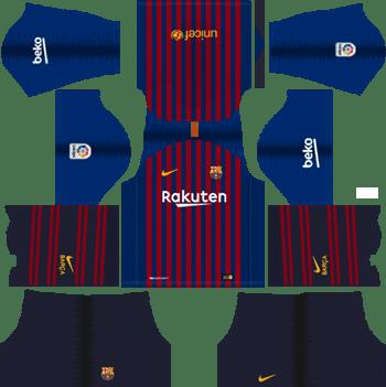 e5cbe2d9b Dream League Soccer Kits Barcelona 2018-19 Kit 512x512 URL