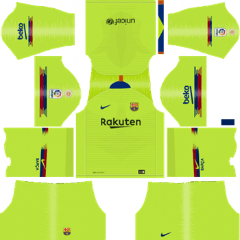 sports shoes 4c7f9 cdec7 Dream League Soccer Kits Barcelona 2018-19 Kit & Logo