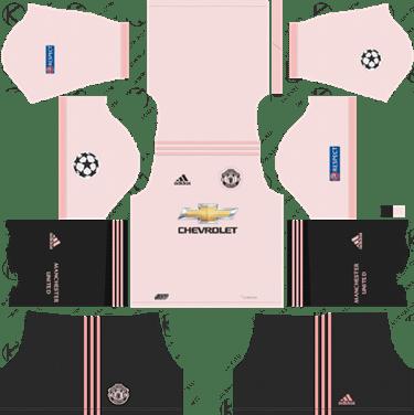 Manchester United 2018 19 Dream League Soccer Kits 512x512 Url