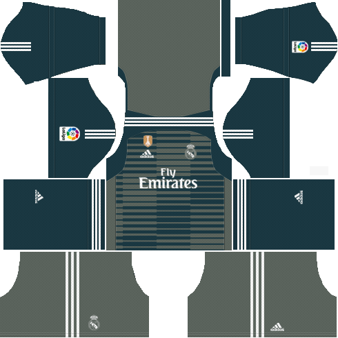 0cc341c251b Real Madrid Goalkeeper Third Kit 2018-19 - Dream League Soccer Kits