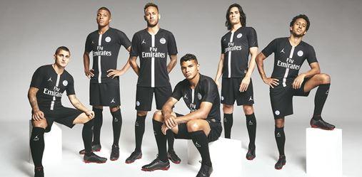 f22b5ccf9ff Paris Saint-Germain Jordan X PSG 2018-19 Dream League Soccer Kits