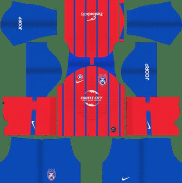 edbc67cc546070 Johor Darul Takzim Home Kits 2019 - Dream League Soccer Kits 2019