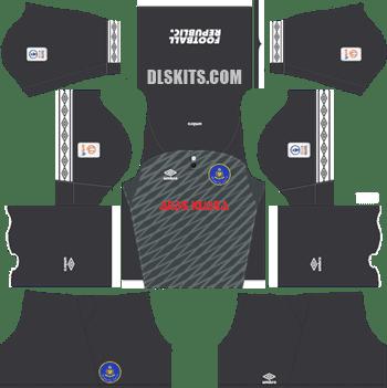 Pahang FA Kit 2019 Away - Dream League Soccer Kits - DLS 19 Kits